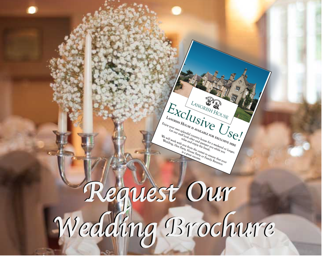 Request a brochure for a civil ceremony wedding venue Hampshire